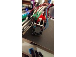 Reach 3D Printer - Alternate Fan Bracket