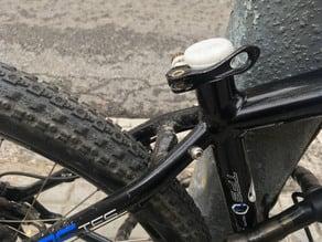 Bike seat tube cover
