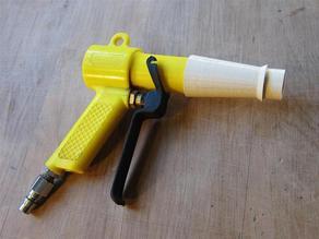 Polystyrene Blower Gun Nozzle Reducer to 25mm v3