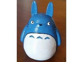 Blue Totoro Coin Bank
