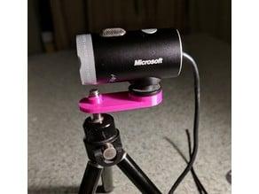 Simple tripod mount for Lifecam Cinema
