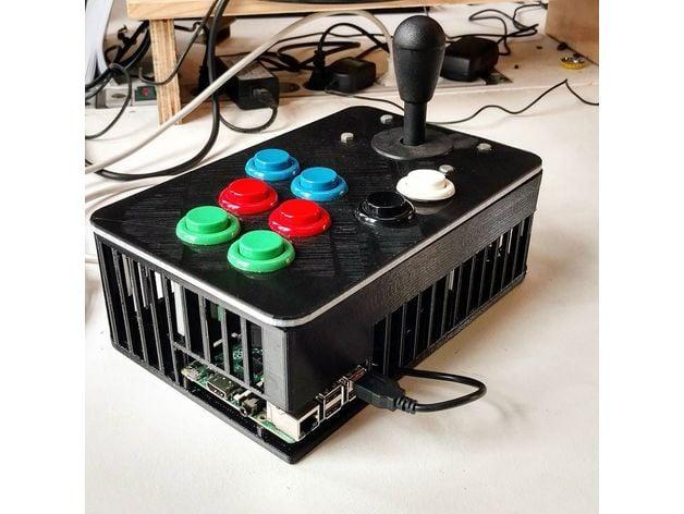 Raspberry Pi Arcade Controller by dansku - Thingiverse