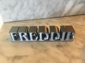 Freddie Mercury stand / disply