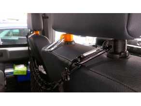 Headrest Eye / curry hook / seat hanger thing!