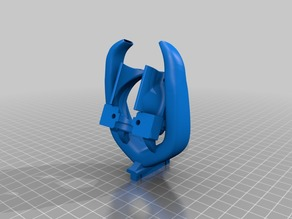 CR-10 Heavy Duty Modular e3D V6 Fan Fang