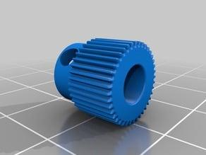 Anet A8 (MK8) Extruder Gear Mockup