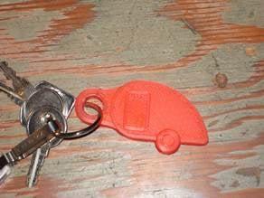 Teardrop Trailer Keychain