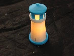 Mini Light-Up Lighthouse