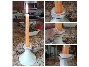 Flexible Candle Drip Catcher aka Bobeche