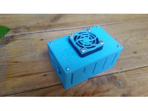 RAMPS/Arduino Mega Enclosure 50mm Fan