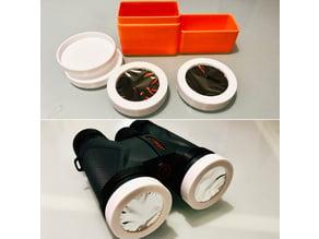 Solar Filter Film Holder for Athlon Midas 8x42 Binoculars