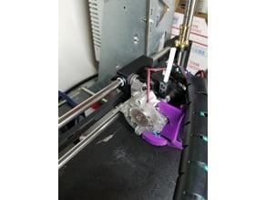 Prusa X-Carriage, IGUS Polymer Bearing, E3D Titan Aero