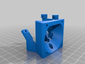 T3P3 Kossel Release 3 Hotend with nut slots