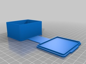 My Customized Case (Rectangular)_2.5x2x1.25_Thicker Hinge