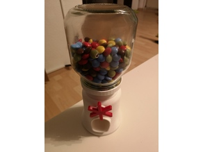 Candy Dispenser Nutella Adapter