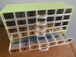Resistor Storage Drawers