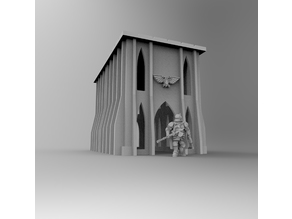 Gothic Imperial Building 01