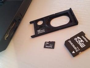 microSD-Card-Storage for ExpressCard/34-Slot