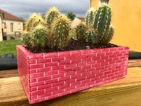 Pot en briques / Brick pot
