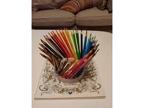 Spiral Pencil Holder (Holds 50)