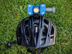 Zebralight H600w Mk II helmet Gopro mount / bracket