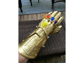 Infinity Gauntlet from Infinity War