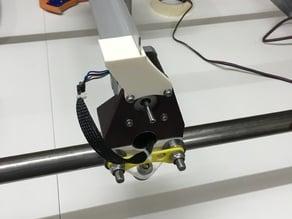MPCNC Braquets for aluminium profile drag chain