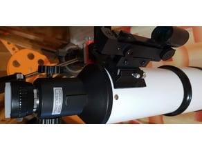 Astronomy red dot finder holder for refractor  80/400mm