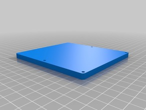 Fridge Temperature controller enclosure w/ rear outlets resized for 120mm print bed