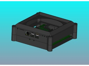 Case for RasPi with two 8 Channel Relays