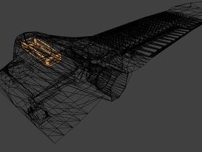 Flying Wing UAV - Skinny-B