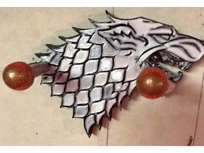 GOT Stark Sigil Sword Mount