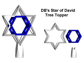 DB's Star of David tree topper