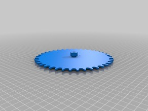 My Customized Sprocket Generator V2 - OpenSCAD