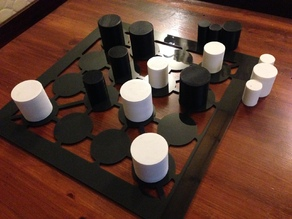 """Gobble"" Strategy Board Game"