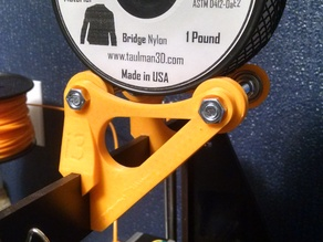 Spool mount for Taulman spools, 7mm thick Prusa i3
