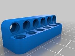 My Customized LEGO Technic Bracket 6 hole