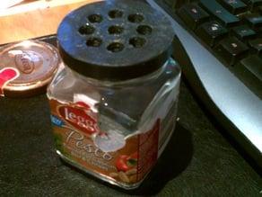 fruit fly trap leggo's pesto jar screw on lid.