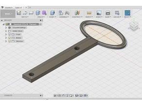 Geeetech i3 Pro W - Guida filamento ( Filament guide )