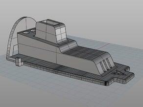 Bixler 3 Canopy with pan/tilt and mobius platform