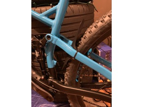 MTB Mudguard - Rear Full Suspension