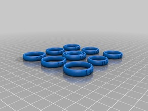 Half-size Ring Sizers