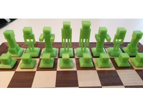Minecraft chess base plate