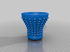 Dotted vase