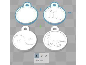 Customized, plastic coins, for shopping cart