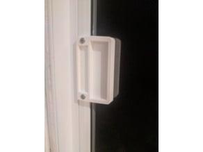 Patiodoor Screen Door Handel (no Lock)