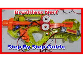 Nerf Rayven Rayvenfire Brushless Motor Setup