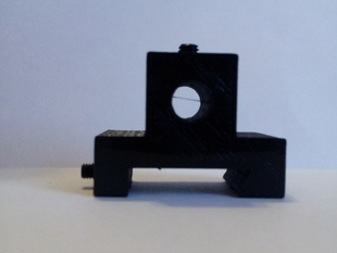 "1/4"" Optical Fiber Dovetail Chuck Mount"
