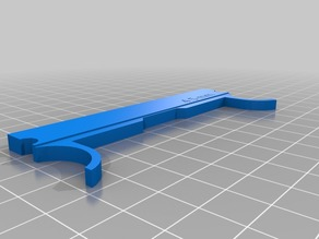My Customized Z-Axis shim spacer for 2016 FlashForge Creator Pro (for glass bed, )