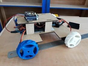 Fully assembled Mecanum Wheel